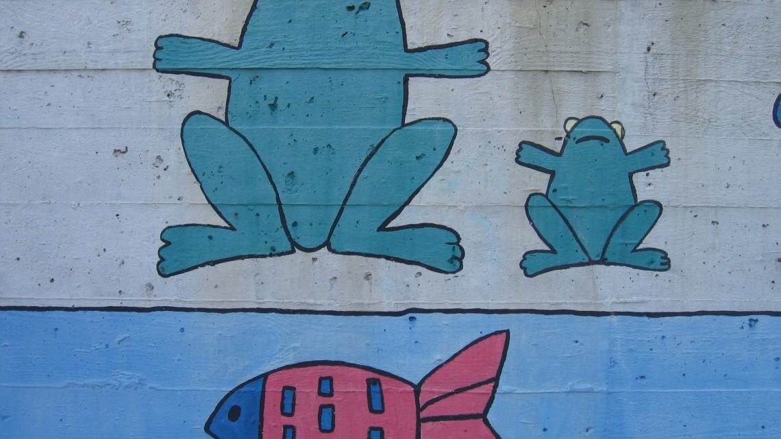Da Flickr - Jump and Squeeze the Fish! Foto di kiki follettosa (licenza CC BY-NC-SA 2.0)