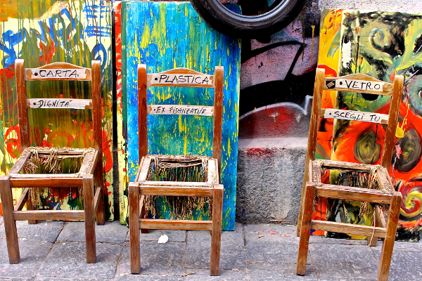 Raccolta differenziata, foto di Carmelo Pollichino, Catania