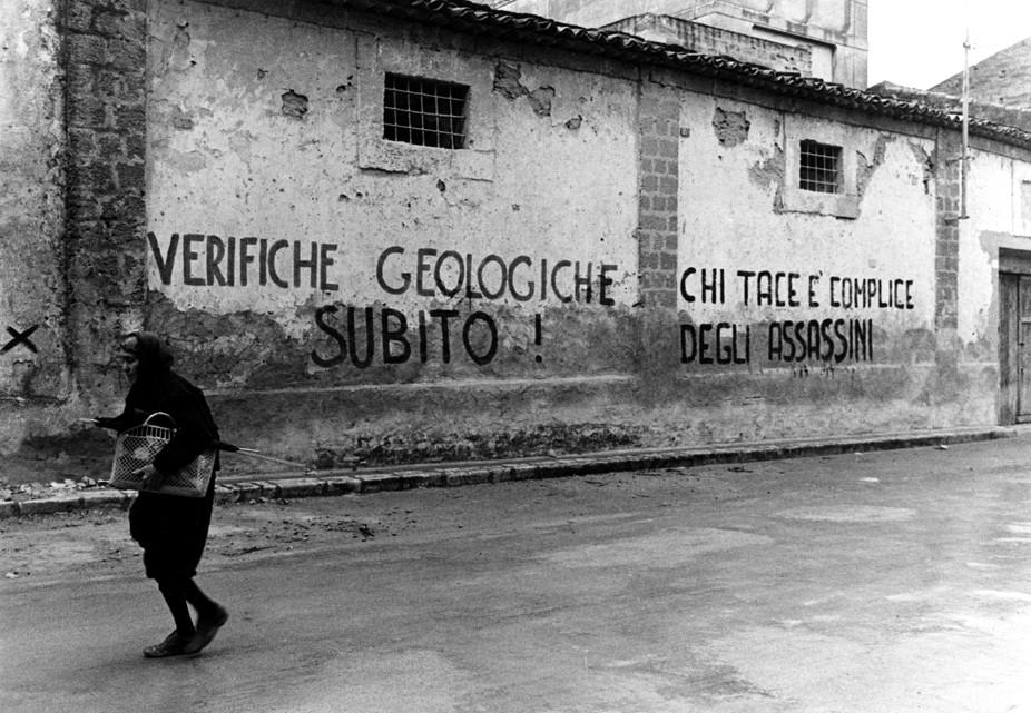 Le terre che tremarono_Terremoto del Belice, foto di Toni Nicolini