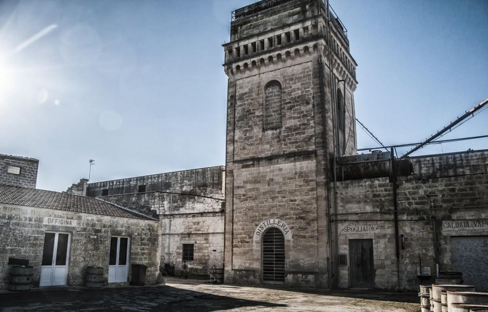 Ex Distilleria di San Cesario di Lecce, foto di C. Chiriacò - Bene selezionato nel 2015