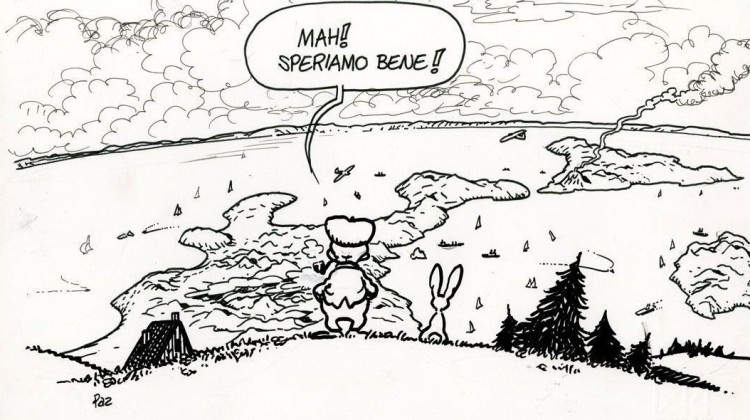 Sandro Pertini, storica vignetta di Andrea Pazienza