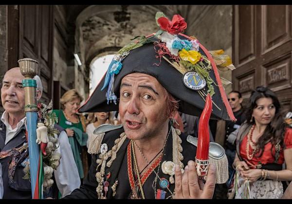 #unfuturomaivisto, O' Pazzariell Napulitan, Napoli, foto di Luigi Ricchezza