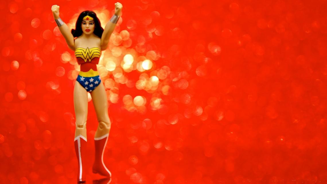 Infinite Wonder Woman, foto di JD Hancock, da Flickr.cm, Licenza Creative Commons (CC BY 2.0)