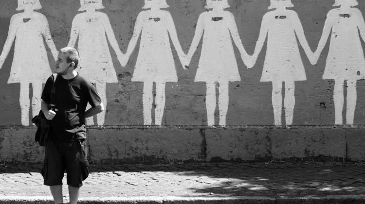 No alla violenza sulle donne, foto di Corrado da Flickr.com, Licenza Creative Commons (CC BY-NC-ND 2.0)