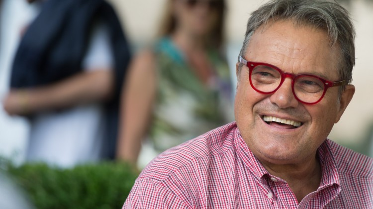 Oliviero Toscani (IT), foto di Ars Electronica da Flickr.com, Licenza Creative Commons (CC BY-NC-ND 2.0)