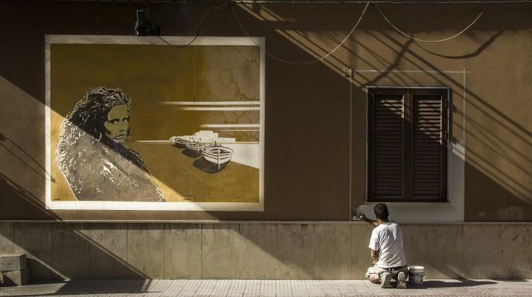 Contest #unfuturomaivisto, Foto di Antonino Novena, Pitture a confronto - Balestrate (PA)