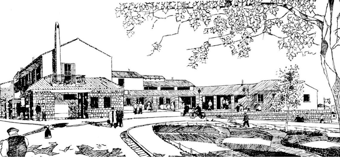 Borgo La Martella a Matera, progetto urbanistico voluto da Adriano Olivetti per gli abitanti dei sassi