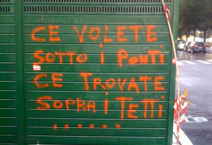 Mercato di via della Marranella a Roma