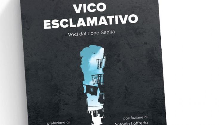 Vico Esclamativo, particolare della copertina del primo libro delle Edizioni San Gennaro