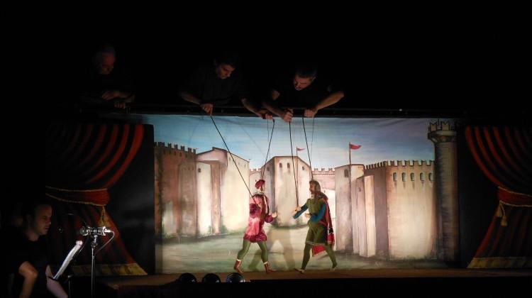 Serata di Gala dell'Opera dei Pupi, F.lli Napoli, Teatro Coppola (CT), Foto Germano Lo Voi
