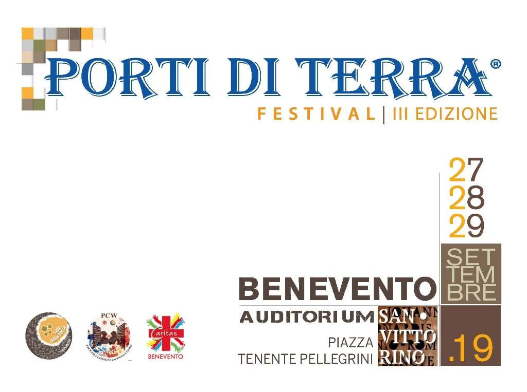 Festival Porti di Terra, locandina