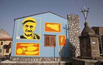 L'opera di street art realizzata da Riccardo Buonafede