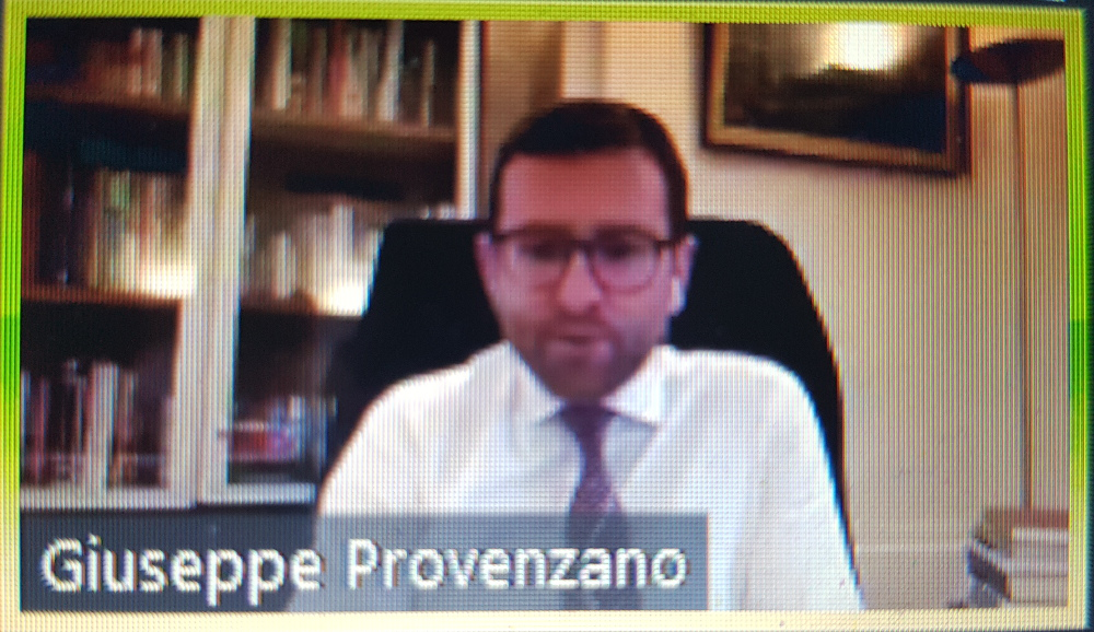 Il Ministro per il Sud Giuseppe Provenzano