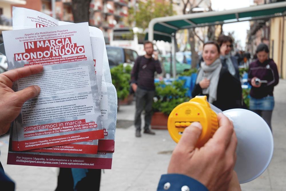 Giulia Fiocca, Siamo in marcia per un mondo nuovo, Palermo, Foto dal contest Diritti a Sud
